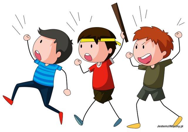 Strajkujące dzieci